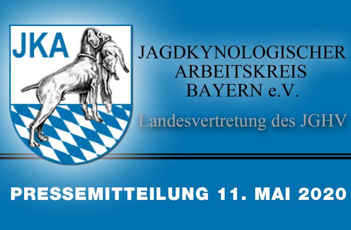 Bayern: Genehmigung der Ausbildungskurse für Jagdgebrauchshunde